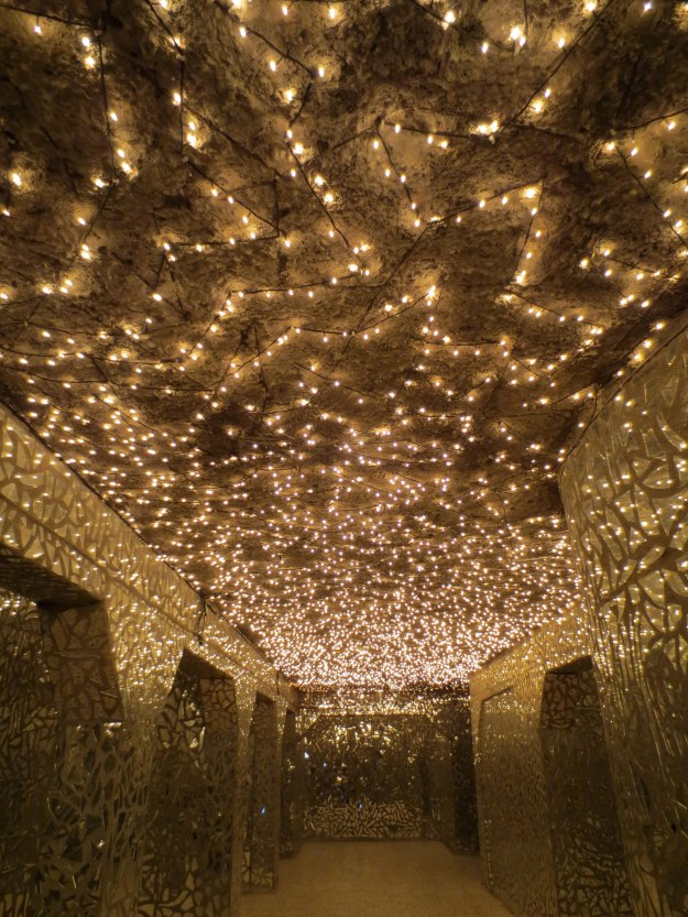 Death's disco: There are 4,500 little lights, each representing a village destroyed in the Anfal campaign, and 180,000 mirror shards, each representing a person killed