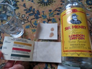 Sir Henry's gin: unconventional warfare