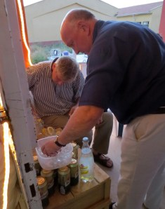 His excellency, the British ambassador to Turkey, helps J to make industrial quantities of double strength gin and tonic