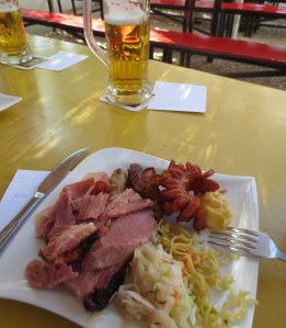 Round two of three. The german bar pig-based friday brunch of kings