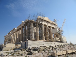 The Parthenon: still not finished