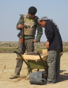 Sieving under pressure: the distinctly military flavour of digging in Iraq
