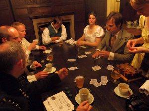The post-ball gambling