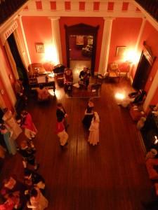 Balling in the ballroom