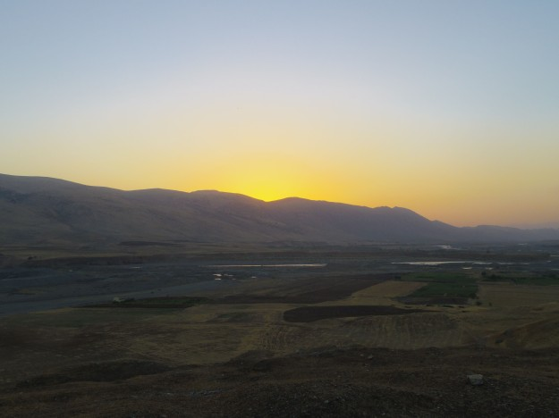 The mountains near Rania